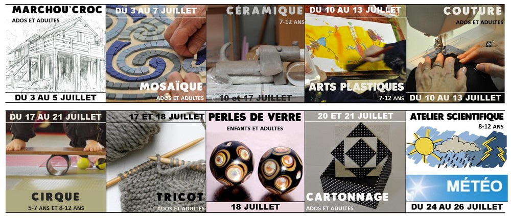 affiche stages 2017